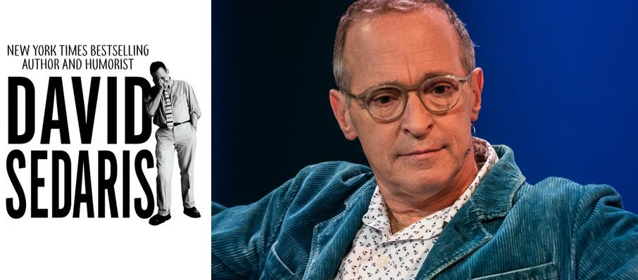 David Sedaris at Harrison Opera House