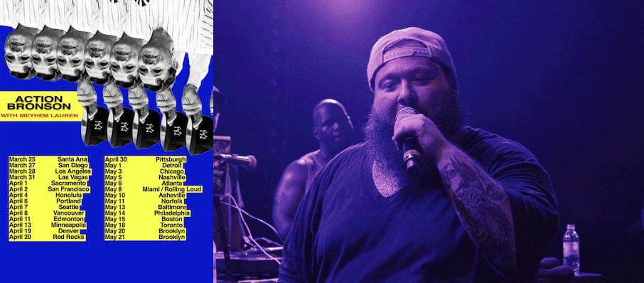 Action Bronson at The Norva