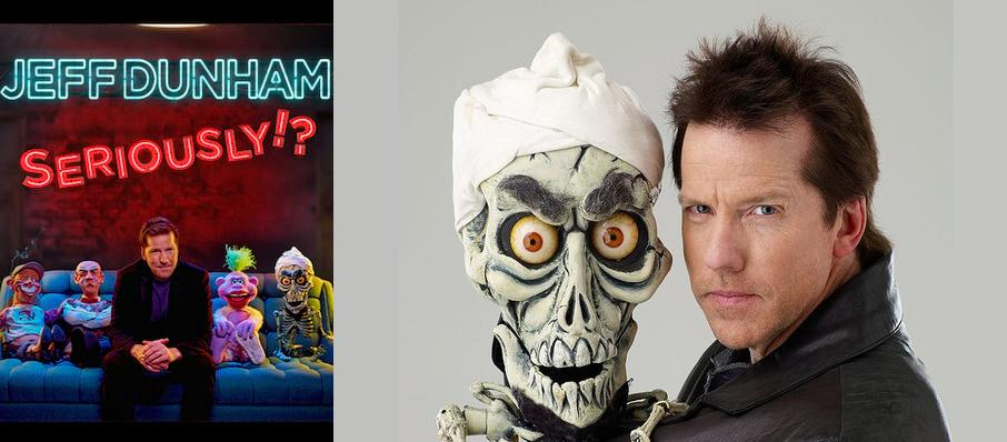 Jeff Dunham at Constant Convocation Center