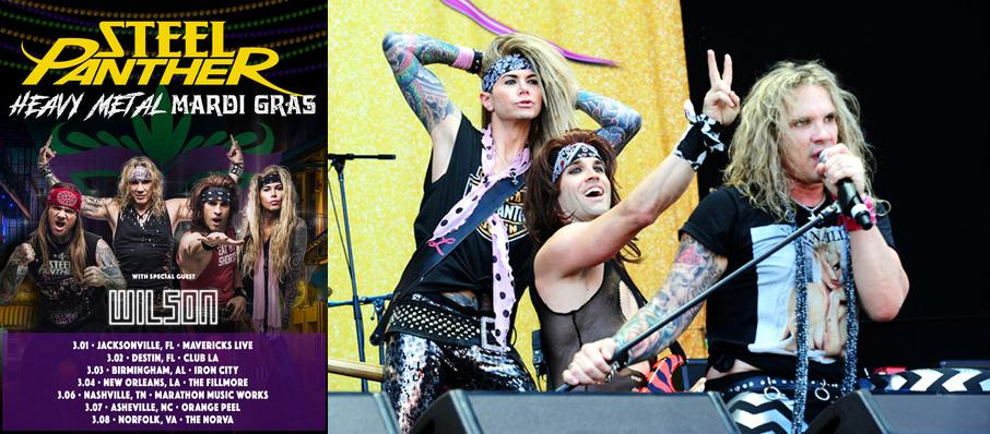 Steel Panther at The Norva