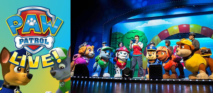 Paw Patrol at Chrysler Hall