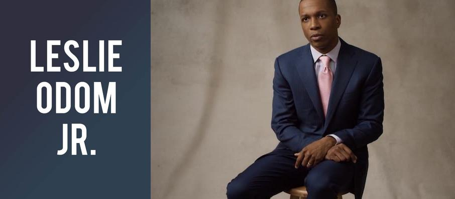 Leslie Odom Jr. at Chrysler Hall
