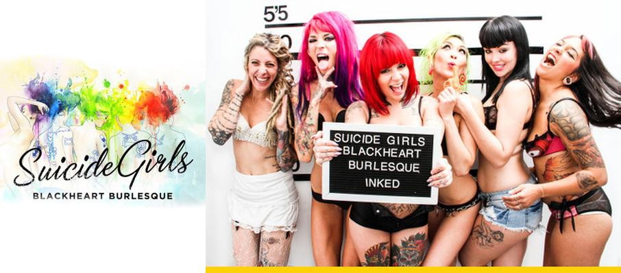 The Suicide Girls: Blackheart Burlesque at The Norva