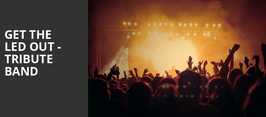 Get The Led Out Tribute Band, Elevation 27, Norfolk