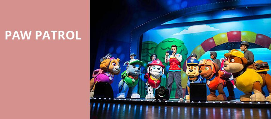 Paw Patrol, Chrysler Hall, Norfolk