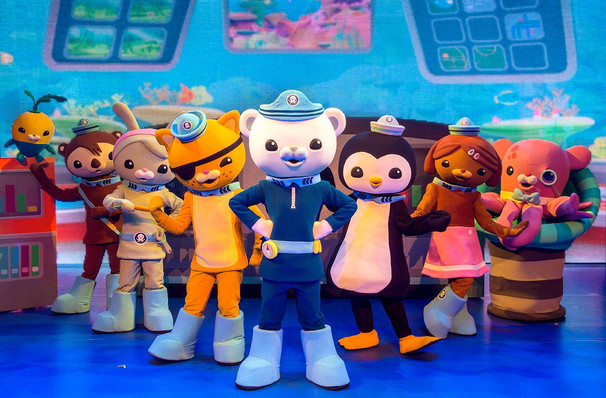 Octonauts Live, Chrysler Hall, Norfolk