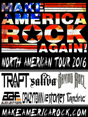 Make America Rock Again Trapt Saliva Saving Abel Alien Ant Farm Crazy Town 12 Stones Tantric, The Norva, Norfolk