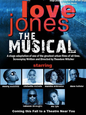 Love Jones The Musical Poster